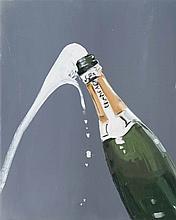 CHARLOTTE BEAUDRY (née en 1968)  Sans titre, 2011  Huile sur toile. Signée