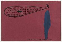 CHRIS JOHANSON (né en 1968)  That Was the Last Time, 2000.  Acrylique sur p