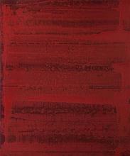 MARTHE WERY (1930-2005)  Sans titre, 2004.  Acrylique sur bois. Signée au d