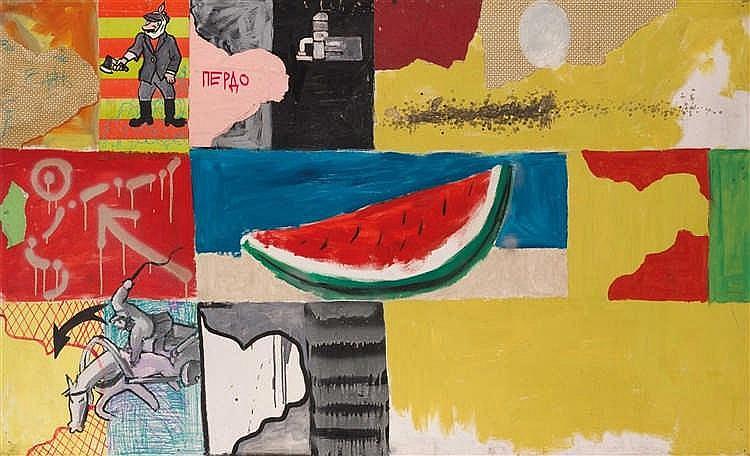 Konstantin Zvezdochotov (né en 1958) Objets exposés au Musée Pierdo, 1988