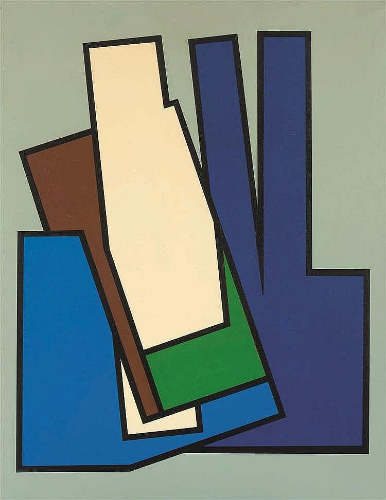 Guy Vandenbranden (1926-2014) Sans titre, 1979 Huile sur toile Olieverf o