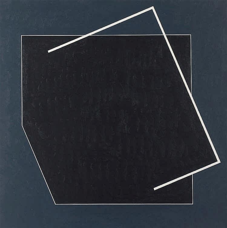Gilbert Decock (1928-2007)   Parnassus, 2001 Huile sur toile. Signée, datée