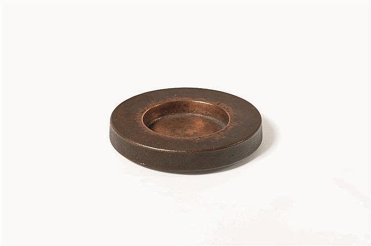 ANTOINE CALLEBAUT Vide poche/cendrier Bronze. Marque CA. Asbak Brons. Gemer