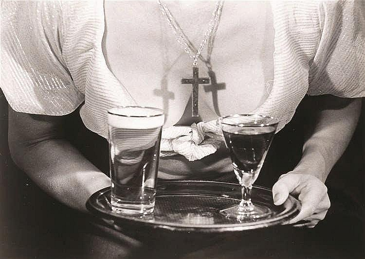 Leo Dohmen (1929-1999)   L'imitation du cinéma, 1959 Tirage argentique d'ép