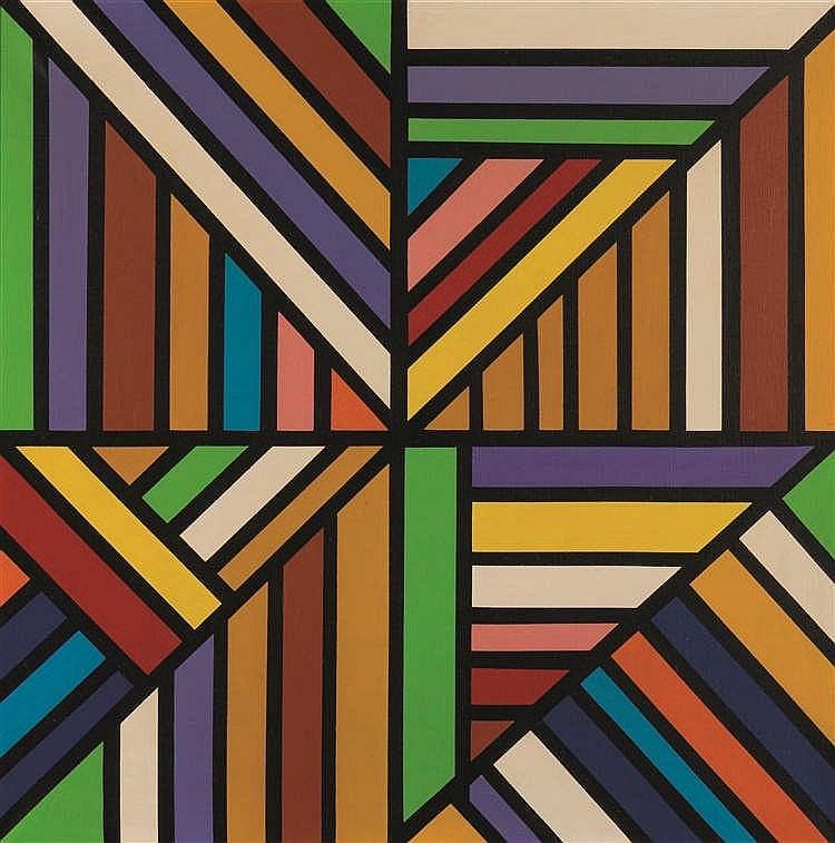 Guy Vandenbranden (1926-2014) Sans titre, 1984 Huile sur toile. Signée et