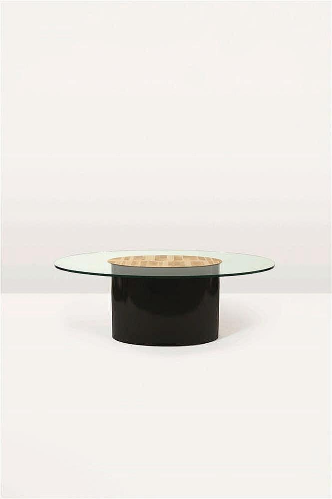 CHRISTIAN KREKELS (né en 1942)   Escalade Table de salle à manger Bois, épa