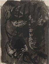 Egnlebert van Anderlecht (1918-1961) Sans titre (n°224) Encre et lavis d