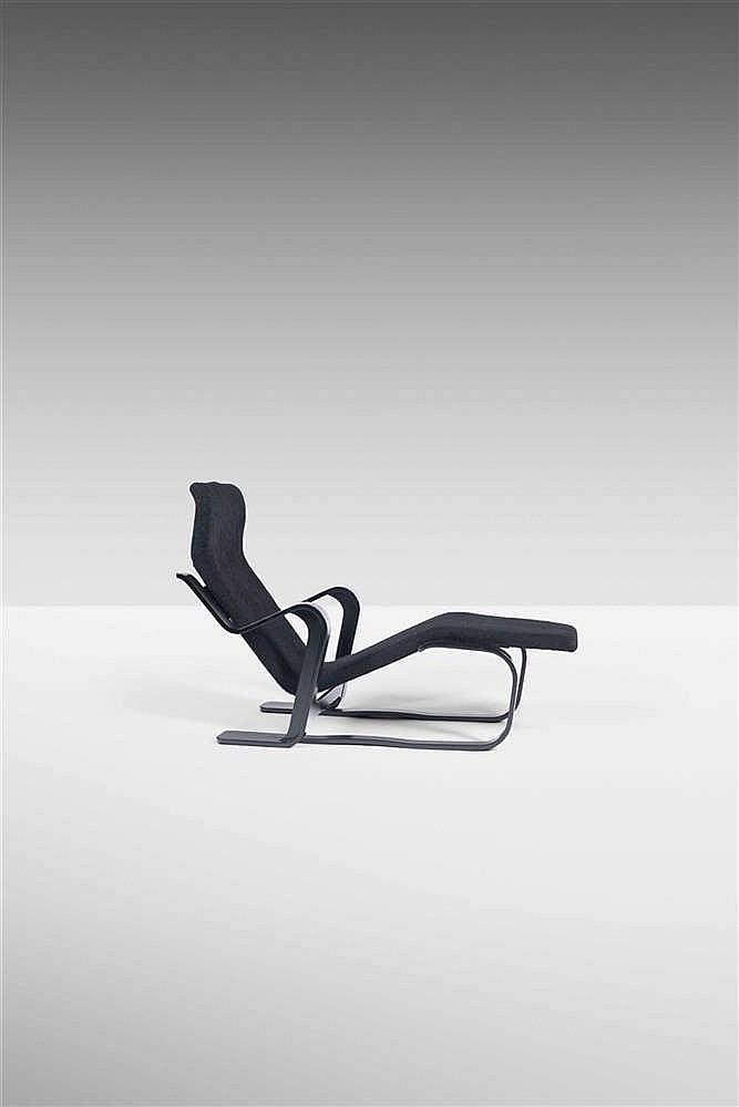 Marcel breuer 1902 1981 chaise longue h tre contreplaqu l for Breuer chaise longue