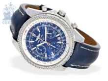 Wristwatch: high-grade gentlemen's watch Breitling for Bentley Motors 30 Seconds Chronograph, stainless steel, ref. A25362 special edition, full set (NO LIVE FEE)