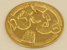 Medaille: Verdienstmedaille des Hamburger Senats zum 40-jährigen Dienstjubiläum