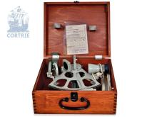 Sextant: Freiberg Sachsen, with original box, test certificate and user guide, 2nd half/20th century