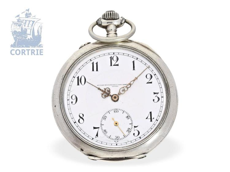 Pocket watch: fine Glashütte precision pocket watch, Deutsche Präzisionsuhrenfabrik Glashütte no.202744, ca. 1920 (NO LIVE FEE)