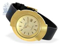 Wristwatch: rare vintage ladies watch Omega Seamaster Automatic, 18 K gold, ca. 1970 (NO LIVE FEE)