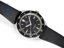 Wristwatch: vintage diver's watch Omega Seamaster 120, from the 60s (NO LIVE FEE)