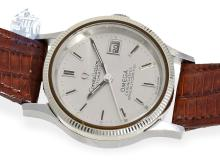 Wristwatch: rare Omega ladies watch, chronometer quality, Constellation, stainless steel, from the 60s (NO LIVE FEE)