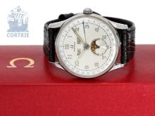 Wristwatch: vintage Omega calendar watch 'Cosmic' from 1946 (NO LIVE FEE)