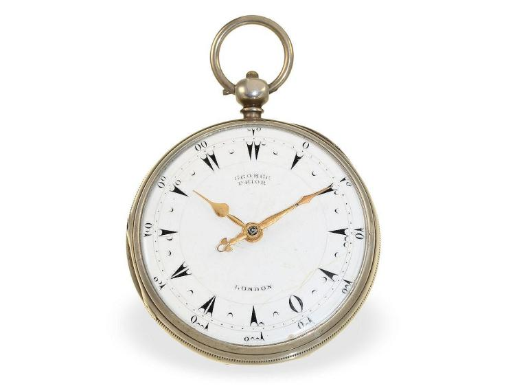 Pocket watch: verge watch for Ottoman market, George Prior London, 1849 (NO LIVE FEE)