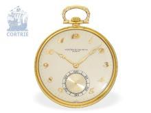 Pocket watch: exquisite Vacheron & Constantin Art Deco dress watch, prime quality, Geneva 1929 (NO LIVE FEE)