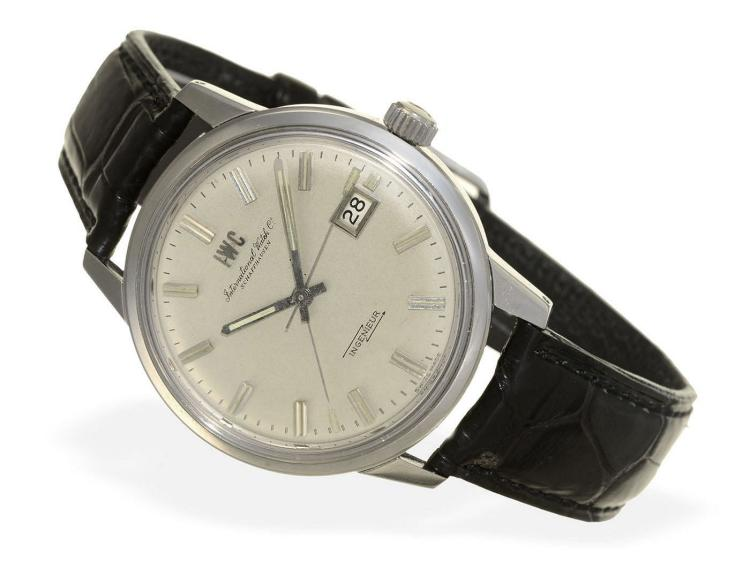 Wristwatch: very rare IWC Ingenieur 866A with special dial, Schaffhausen ca. 1969 (NO LIVE FEE)
