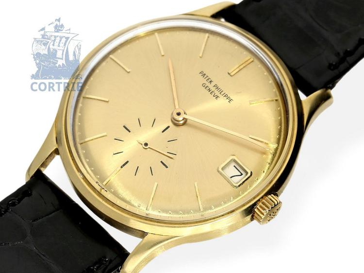 Wristwatch: very fine automatic gentlemen's watch Patek Philippe reference 3514, Geneva 1965 (NO LIVE FEE)