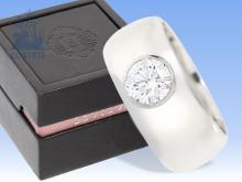 Ring: Brillant/Solitärring der Spitzenklasse, exklusiver Markenschmuck von Leviev Madison Avenue, New York, inklusive Originalbox