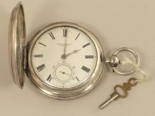 Taschenuhr: sehr schwere englische Savonnette von 1897, Chronometermacher John Forrest London