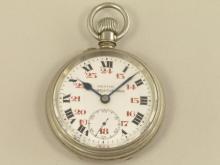 Taschenuhr: seltenes Zenith Chronometer für die sibirische Eisenbahn, um 1900