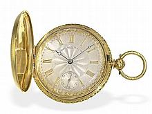 Pocket watch: Fine London gold huntingcase watch, Henry French Royal Exchange 1838