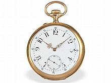 fine Geneva lever chronometer, Alex Hüning ca. 1910