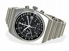 Wristwatch: Popular and limited Omega chronograph Speedmaster 125, serviced condition