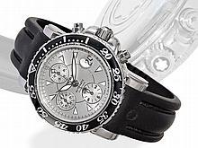 Montblanc masterpiece automatic diver's chronograph