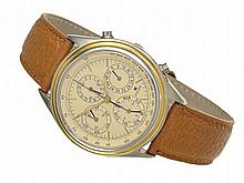 Kelek chronograph with triple date, ref. 2372