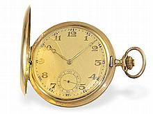 Swiss gold huntingcase watch, ca. 1920
