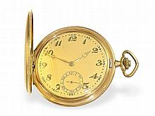 gold huntingcase watch, ca. 1925