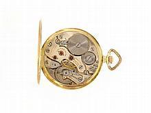 14 K pocketwatch by Unitas