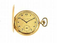 gold pocket watch by Locarno Watch Company