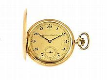 gold pocket watch by Locarno Watch Company