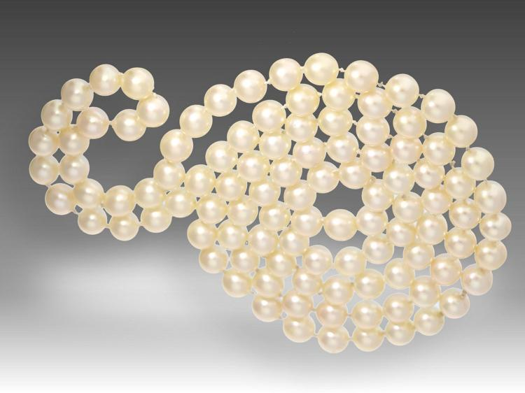 High-quality longchain-pearl necklace