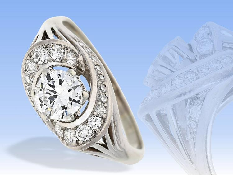 High quality vintage diamond ring