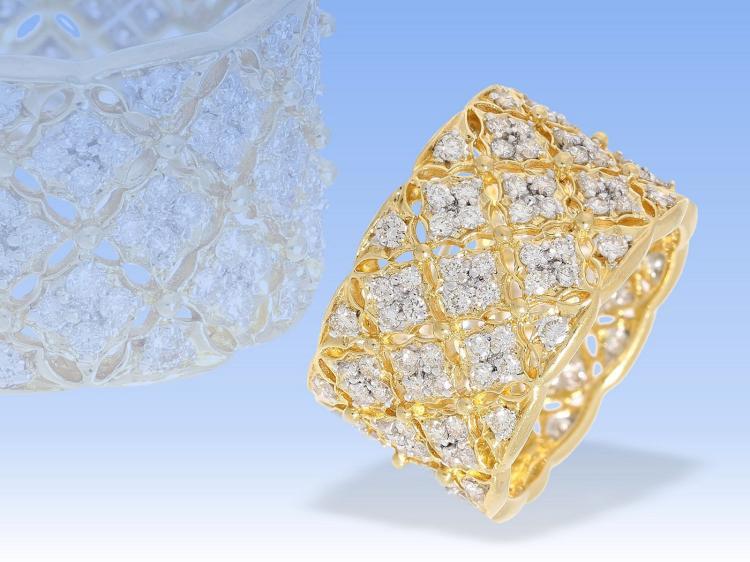 Ring: ehemals sehr teurer, ganz hochwertiger Brillantring, 1,82ct im oberen Qualitätsbereich