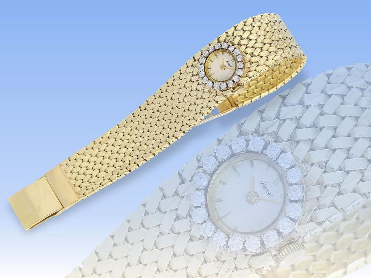Vintage diamond wristwatch
