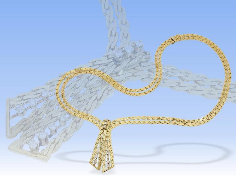 Vintage diamond necklace
