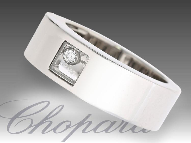 New modern diamond ring by Chopard
