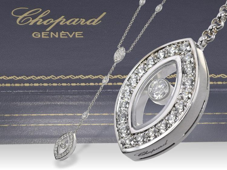 Modern necklace by Chopard, new
