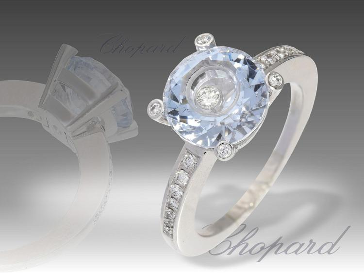 Modern ring by Chopard