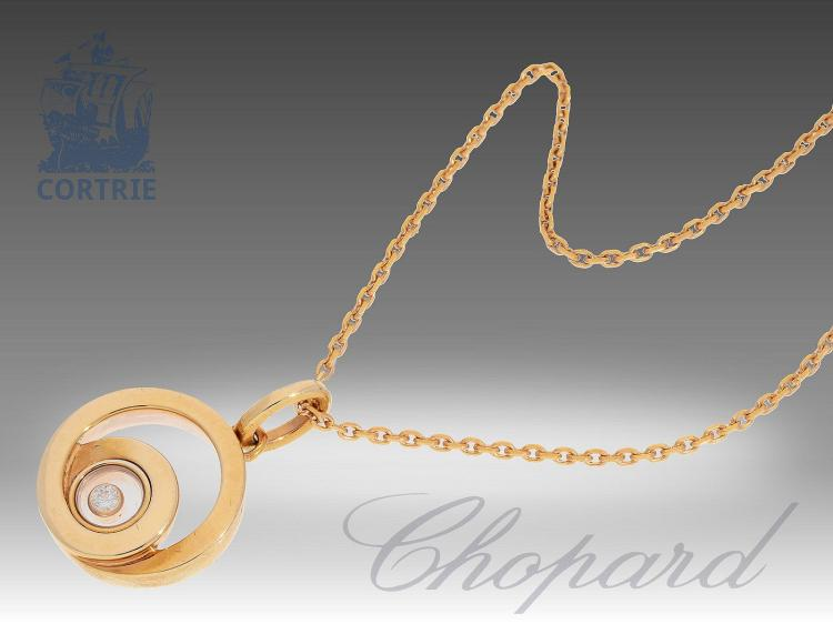 Modern necklace by Chopard
