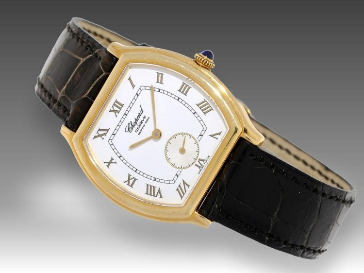 Modern wristwatch by Chopard, box & Papers
