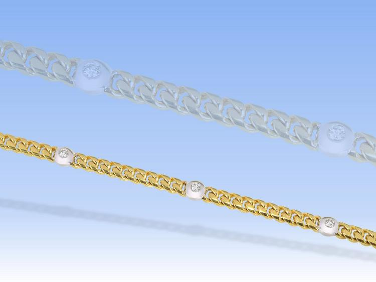 Diamond bracelet, new, 0.75ct