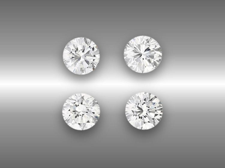 High-quality diamonds, 1ct