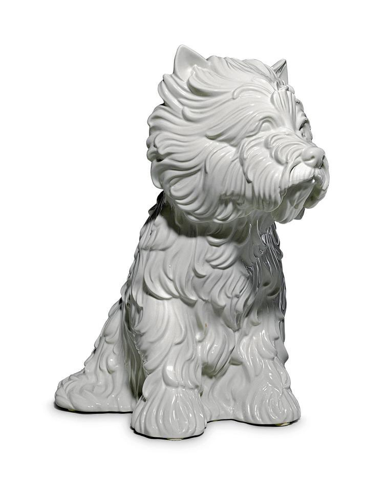Jeff Koons Puppy Vase 1998
